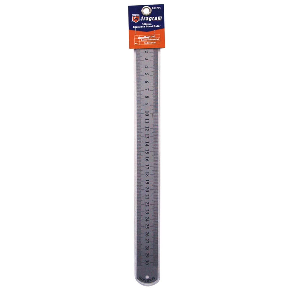Ruler Stainless Steel 300mm L Gt Ools