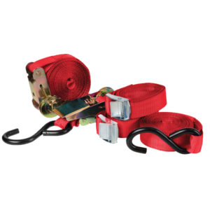 4 PC RATCHET TIE DOWN SET