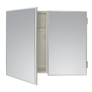 WHITE DOUBLE CABINET