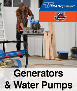 Gennies and water pumps